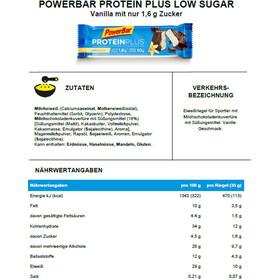 PowerBar ProteinPlus Bar Box 30x35g Vanilla